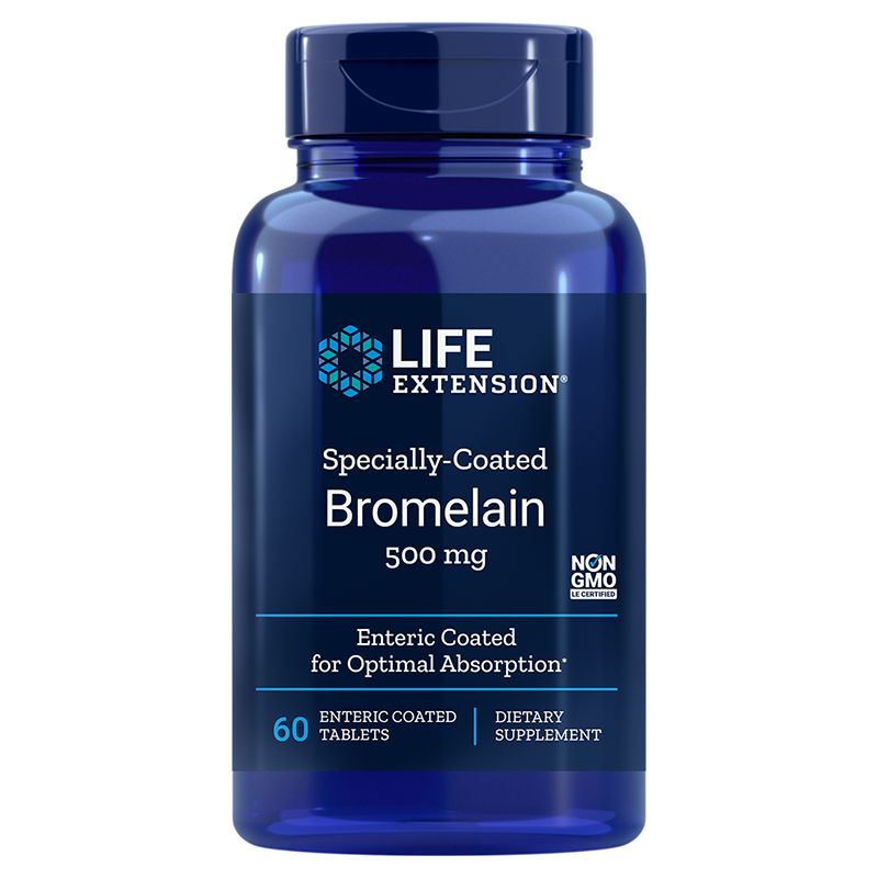 Specially-Coated Bromelain