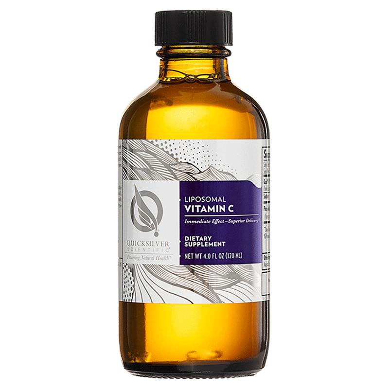 Life Extension QuickSilver bestseller Liposomal Vitamin C, 120 ml liquid for for immune health support and tissue repair