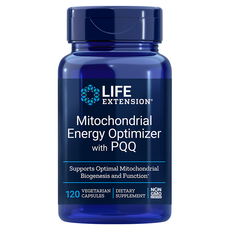 Life Extension Mitochondrial Energy Optimizer with PQQ, 120 vegetarian capsules to energize every cell