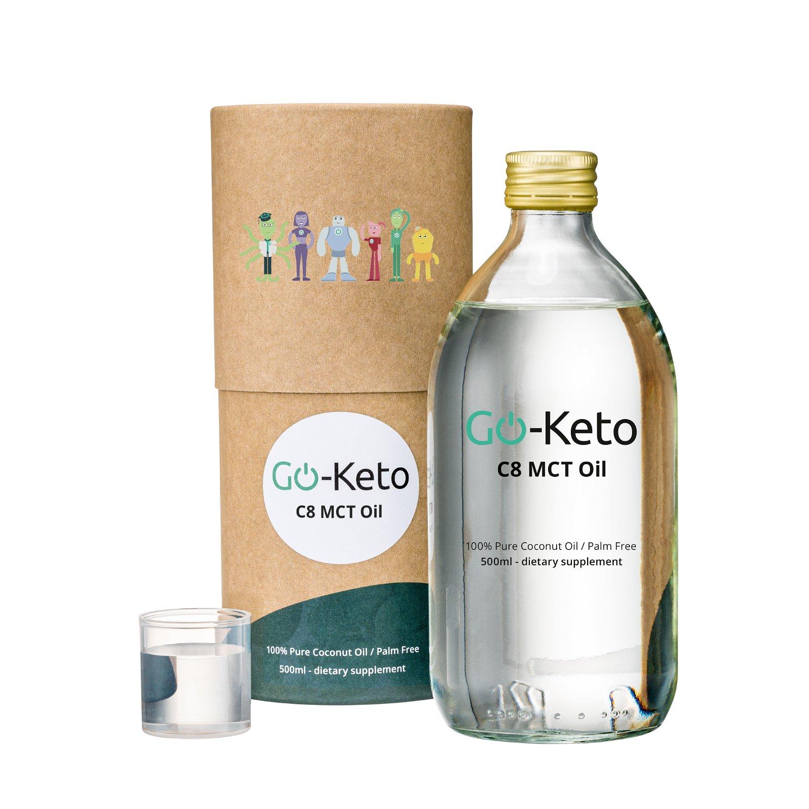 Go-Keto Premium Coconut MCT Oil
