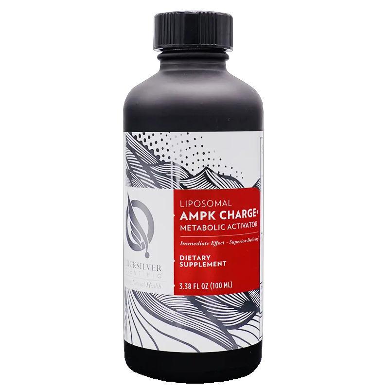 Quicksilver Scientific AMPK Charge+™, 100 ml to support metabolic balance and flexibility