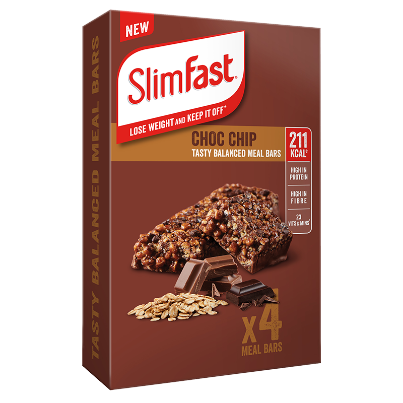 SlimFast Meal Replacement Bar Choco Chip