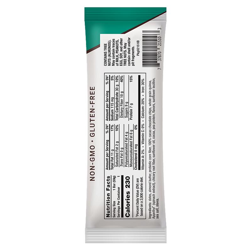 Life Extension 59 g Wellness Code® Appetite Control Bar, supplement facts