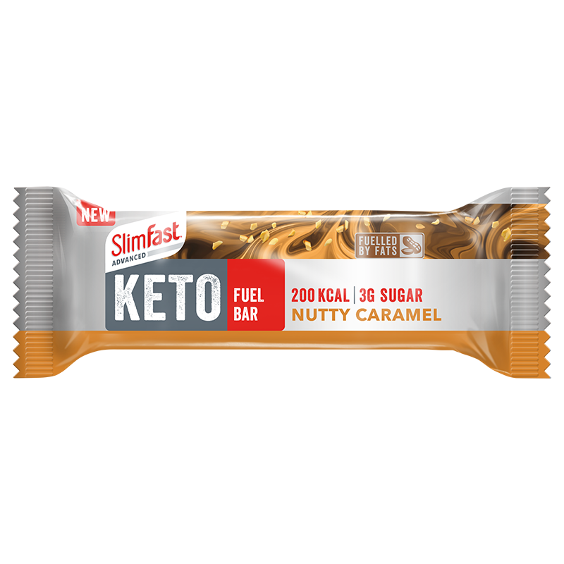 SlimFast Keto Bar Nutty Caramel