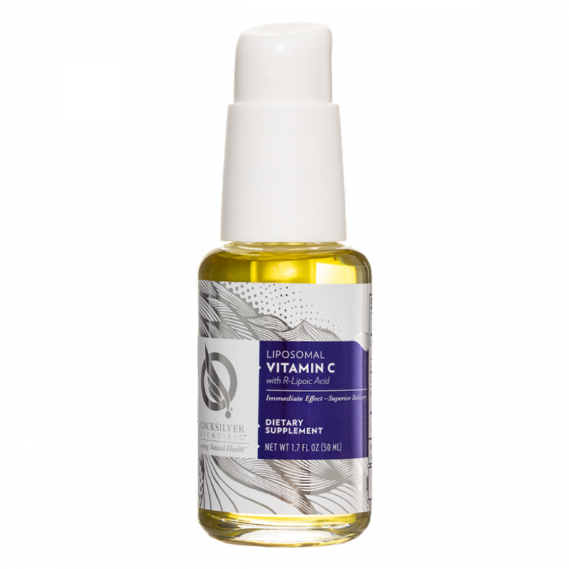 Life Extension Liposomal Vitamin C with R-Lipoic Acid, 50 ml liquid to promote and support detoxification in the body