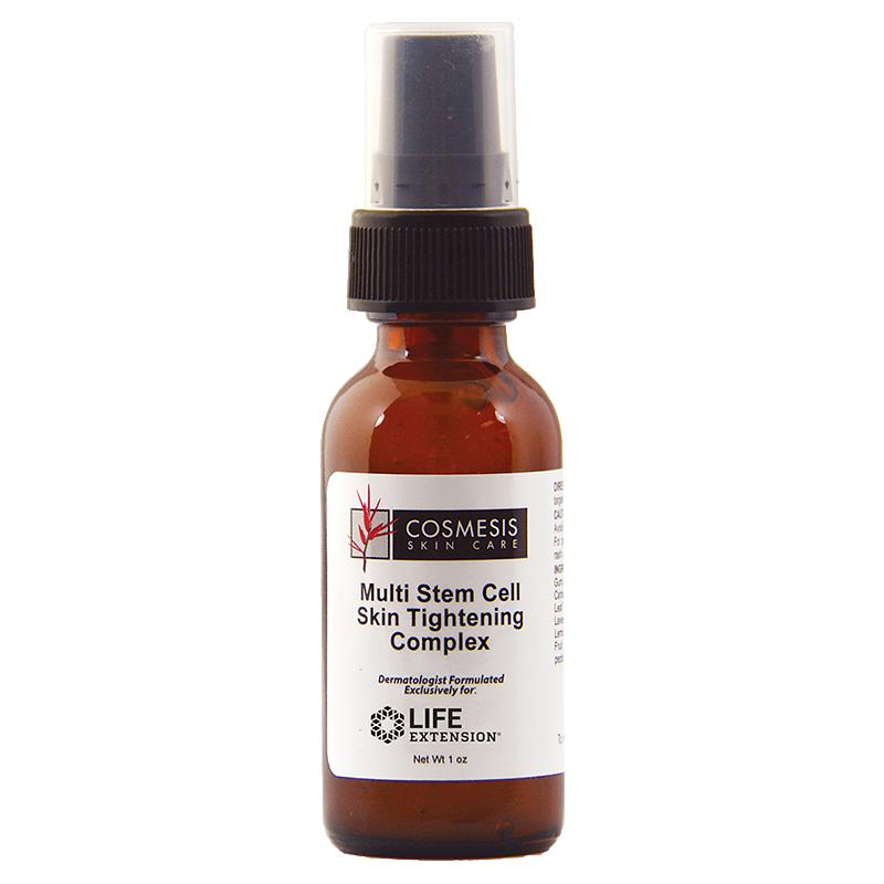 Life Extension Cosmesis Skin Care, Multi Stem Cell Skin Tightening Complex 30 ml serum