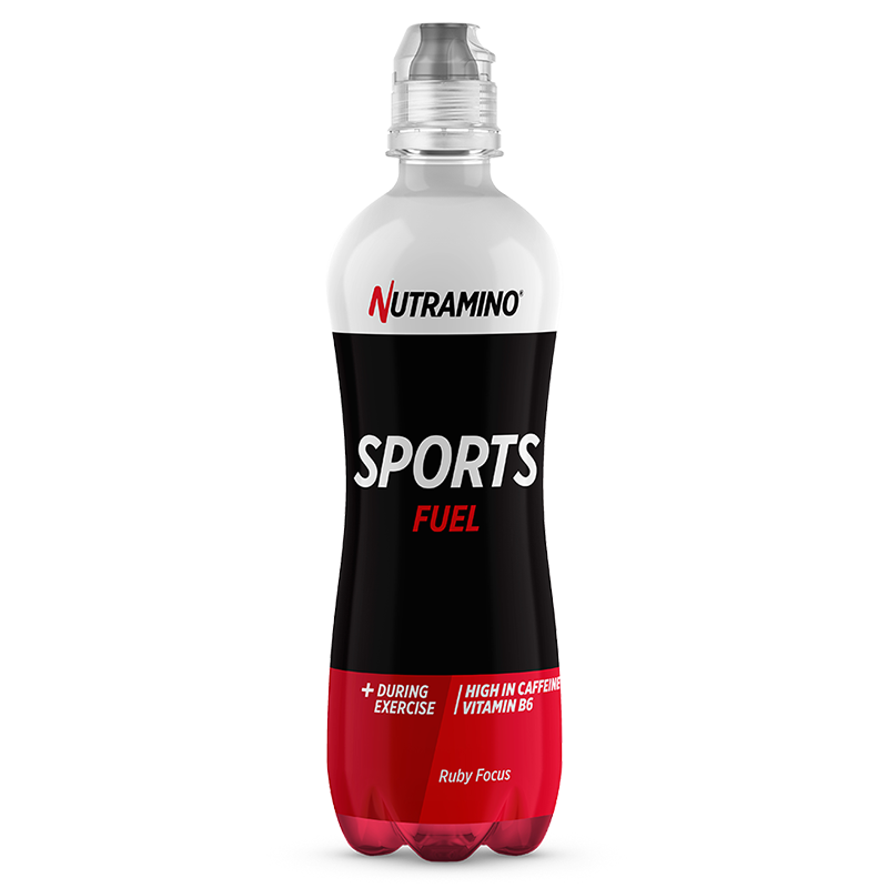 Life Extension Nutramino Sports Drink Fuel, 500 ml liquid og raspberry flavor sports performance booster