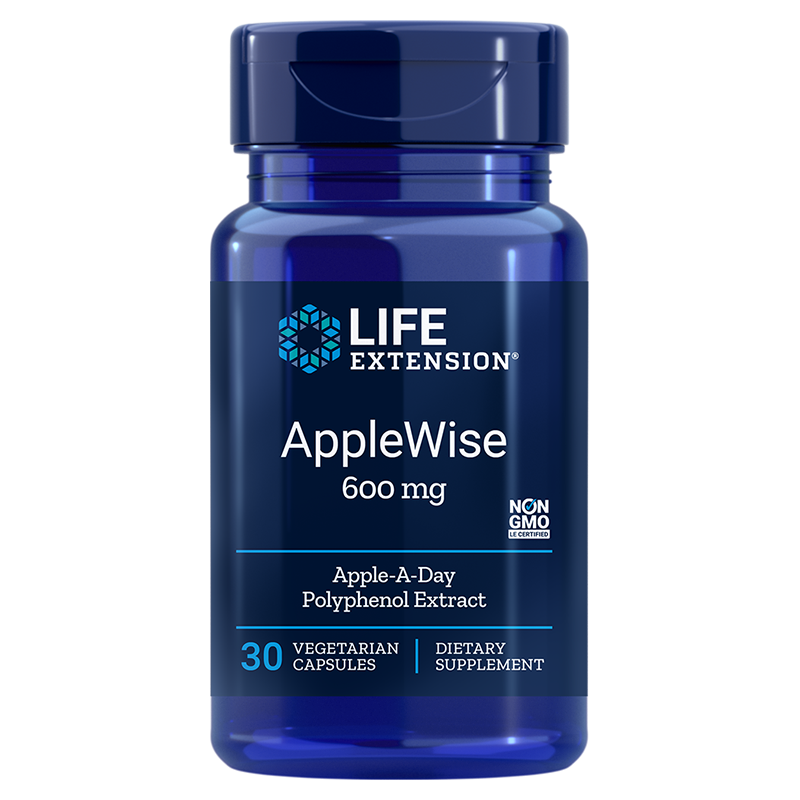 Life Extension AppleWise Offers, 30 vegetarian capsules for a wide range of health benefits