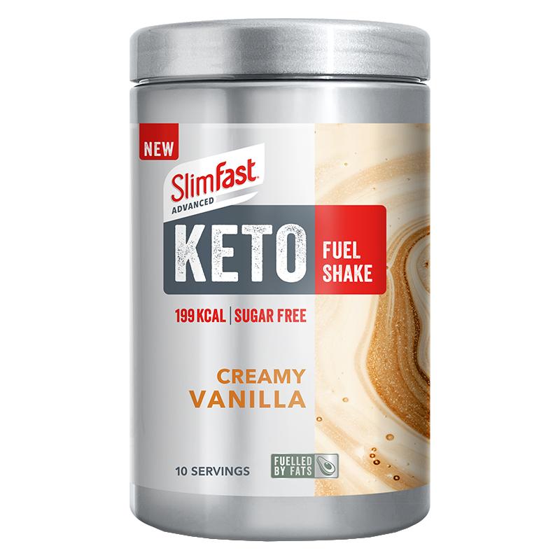 SlimFast Keto Shake Creamy Vanilla