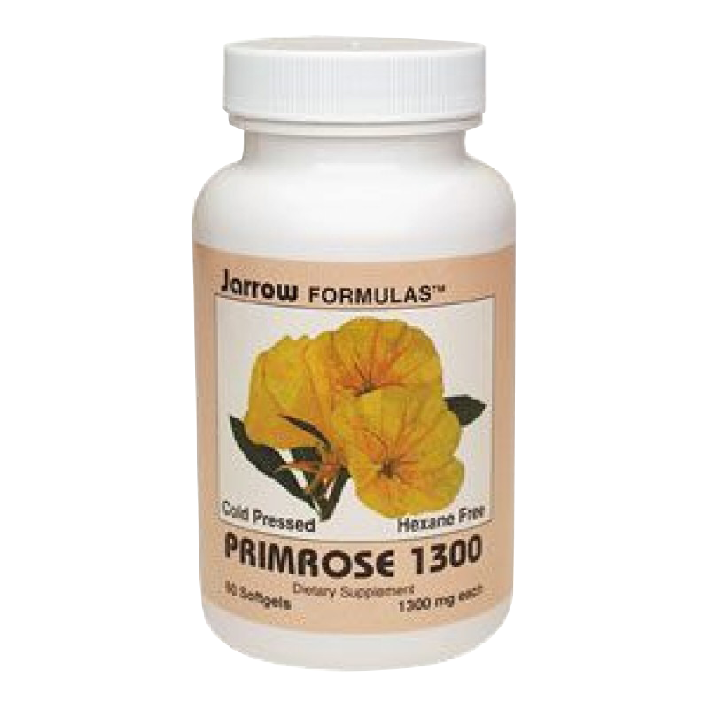 Life Extension dietary supplement Primrose 1300 mg 1 softgels of GLA (gamma-linolenic acid)