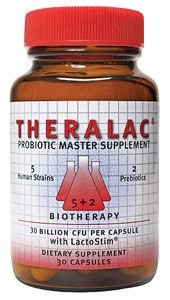 Life Extension Theralac®, 30 capsules for delivery of the probiotics into the intestinal tract