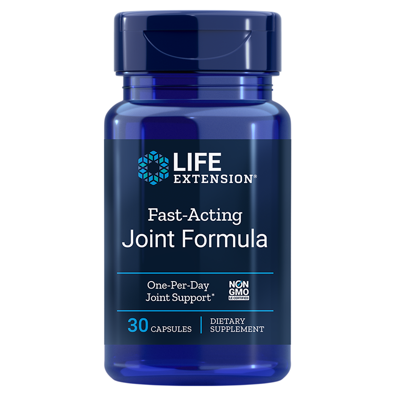 Life Extension Fast-Acting Joint Formula, 30 capsules for joint discomfort relief