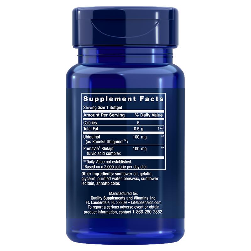 Super Ubiquinol CoQ10 with Enhanced Mitochondrial Support™
