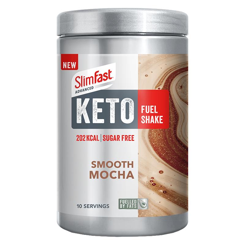 SlimFast Keto Shake Smooth Mocha