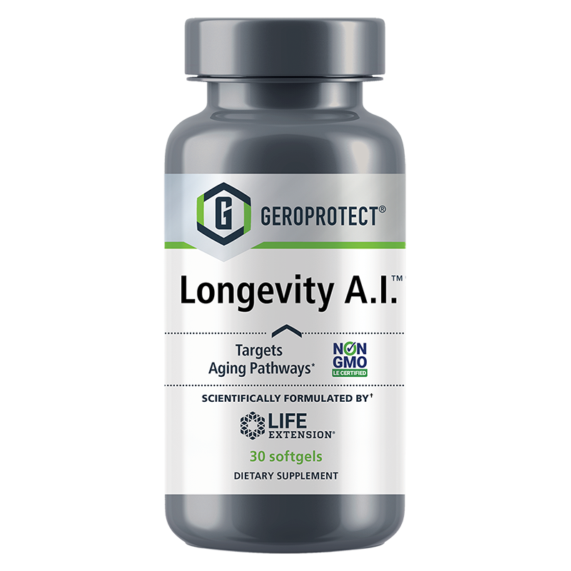 GEROPROTECT™ Longevity A.I.™, 30 softgels | Life Extension