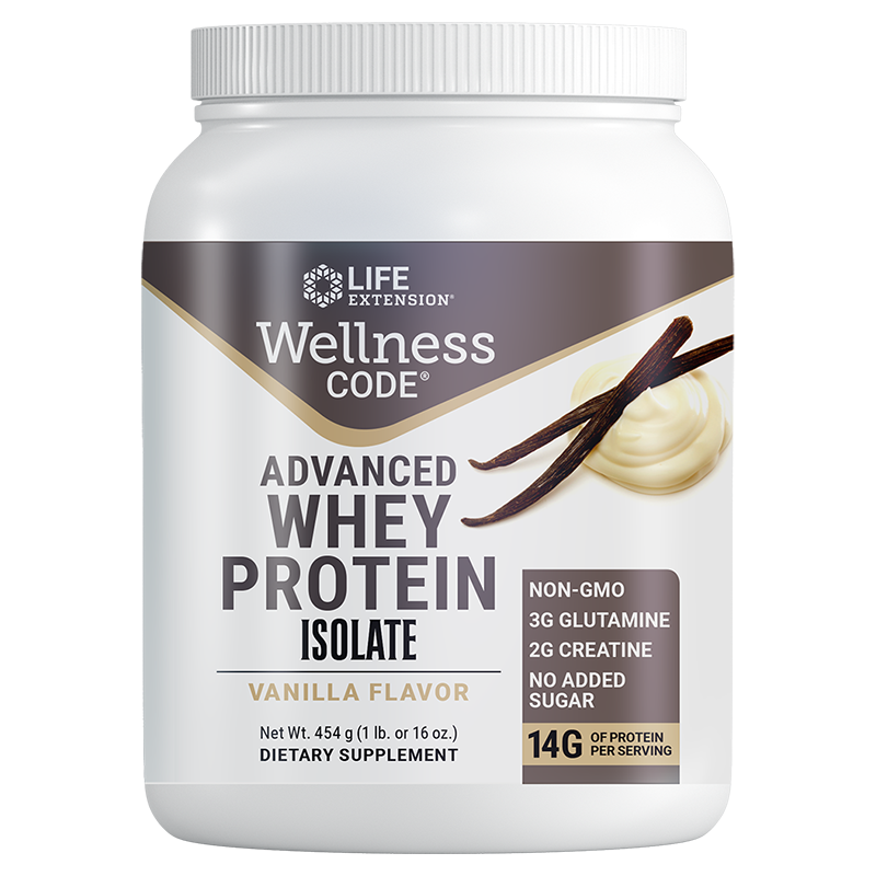 Wellness Code® Advanced Whey Protein Isolate