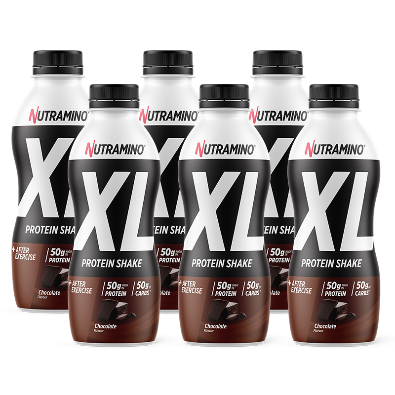 Life Extension Nutramino XL Protein Shake, 500 ml with chocolate taste for muscle support