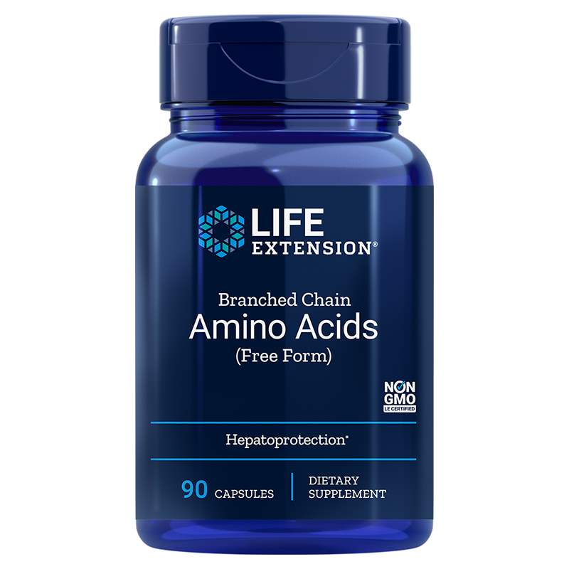 Life Extension Branched Chain Amino Acids, 90 capsules to support muscle recovery after exercise