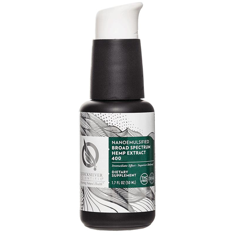Life Extension Broad Spectrum Hemp Extract, 30 ml liquid of mood-boosting hemp oil formula without THC