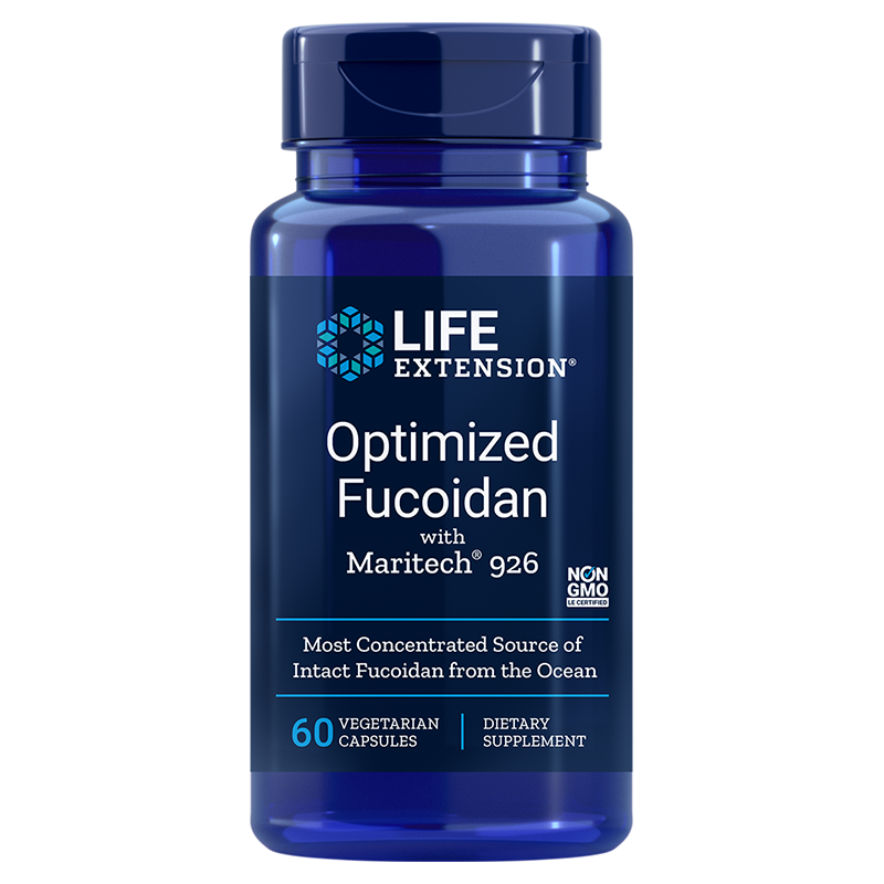 Life Extension Optimized Fucoidan with Maritech® 926, 60 vegetarian capsules for healthy immune function