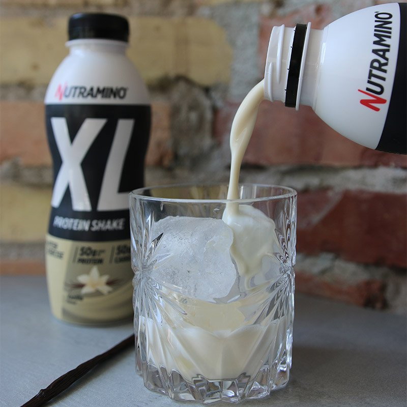 Life Extension Nutramino XL Protein Shake, 500 ml with vanilla taste for muscle support