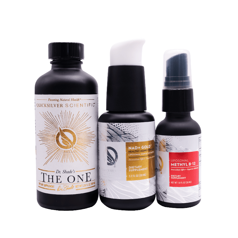 Life Extension QuickSilver Energy and Longevity Bundle for detoxification, energy and longevity support
