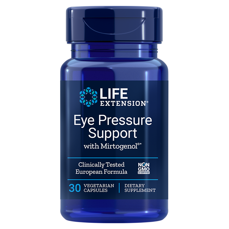 Life Extension Eye Pressure Support with Mirtogenol®, 30 vegetarian capsules to support healthy eye pressure