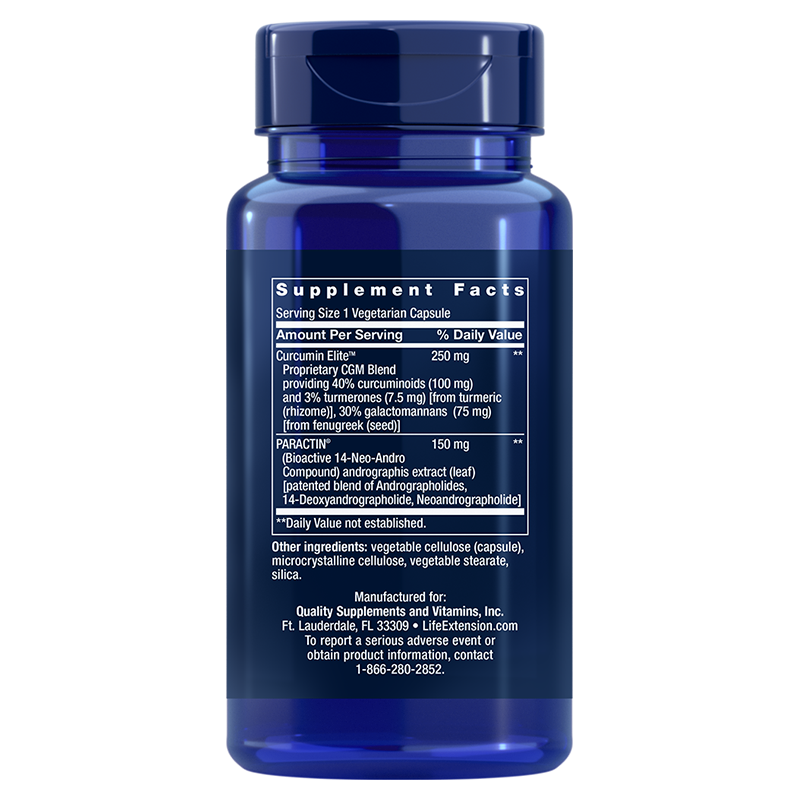 Life Extension Arthro-Immune Joint Support, supplement info